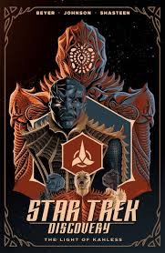 star trek the light of kahless cover